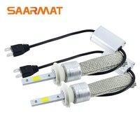 2 x Auto Headlight Bulb H7 LED Tailor-made High Power 96W 9600lm White 6000K Bright Car Head Fog DRL Light Kit
