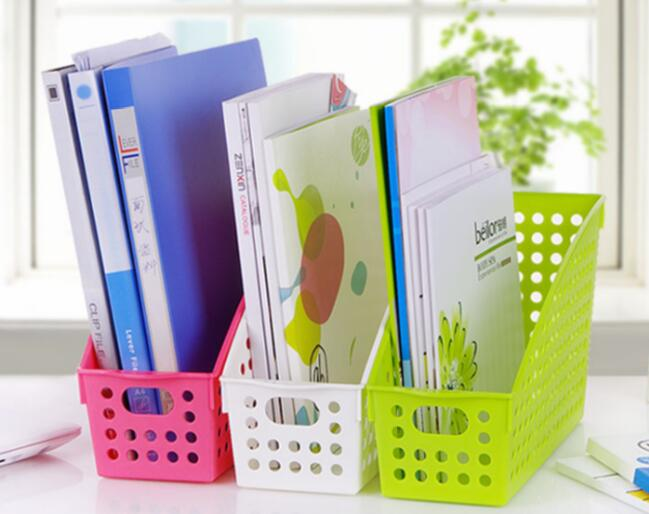 Thickening Rectangle Plastic Storage Basket Desktop File Storage Baskets -in Storage Baskets from Home u0026 Garden on Aliexpress.com | Alibaba Group  sc 1 st  AliExpress.com & Thickening Rectangle Plastic Storage Basket Desktop File Storage ...