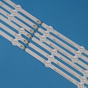 Image 4 - Listwa oświetleniowa LED TV do LG 47LN547V 47LN548C 47 cali podświetlenie telewizor LED taśmy świetlne paski lampowe kompletny zestaw wymiana