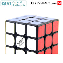 QiYi Valk 3 Power M 3x3x3 Magnetic Magic Cube Valk3 3x3  Professional Neo Speed Puzzle Antistress Fidget Toys For Children