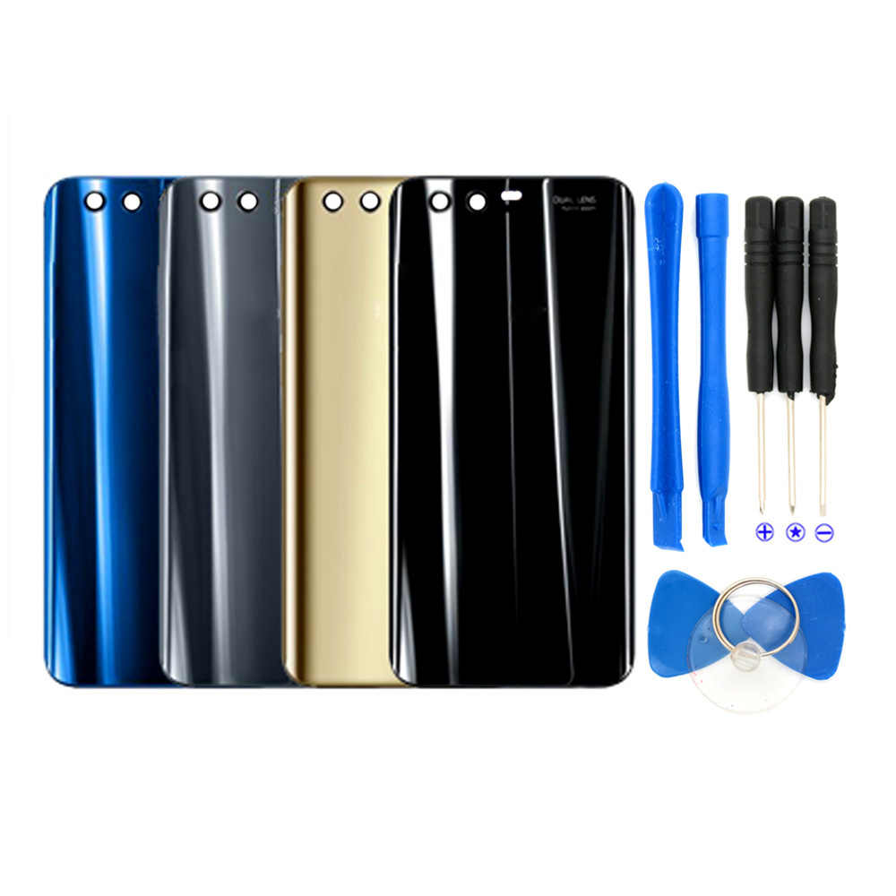 new style 83305 20911 For Huawei P20 Lite Glass Battery Back Cover For Huawei Honor 9 10 Back  Glass Cover For Huawei P20 Pro Housing Back Battery Case