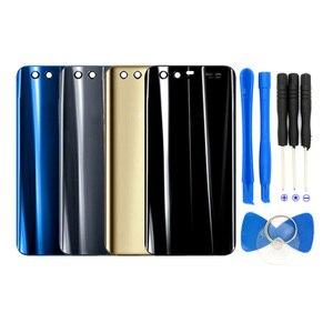Стеклянная задняя крышка батарейного отсека для Huawei P20 Lite, Задняя стеклянная крышка для Huawei Honor 9 10, чехол-Аккумулятор для Huawei P20 Pro
