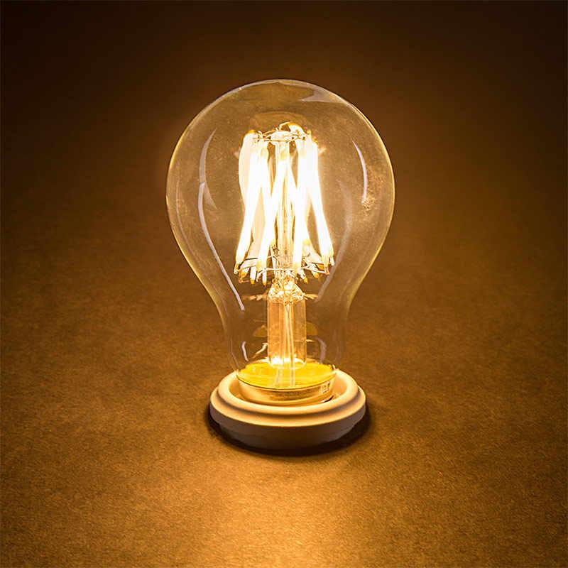 2 Вт, 4 Вт, 6 Вт, винтажная лампа Эдисона светодиодный Лампа накаливания E14 светодиодный E27 лампа накаливания лампы накаливания 220V светодиодный E14 C35 E27 A60 украшения