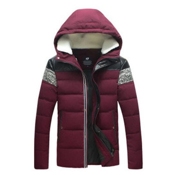 2017 Winter Men Down & Parkas Cotton-padded Jackets Men' s Casual Down Jackets Thicken Coats OverCoat Warm Clothing Big 5XL