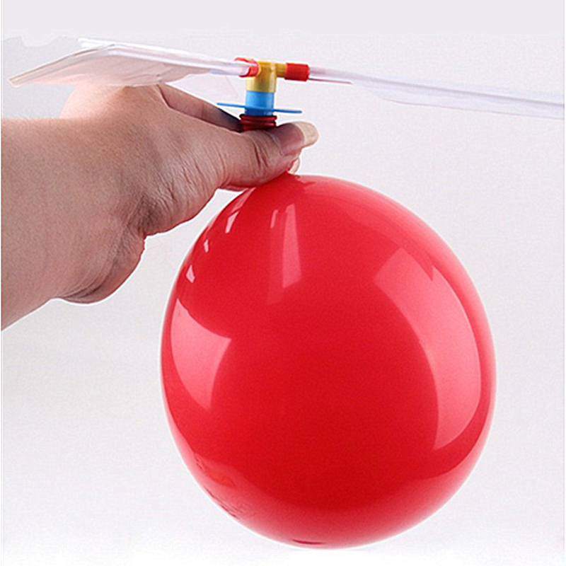 Funny Classic Sound Balloon Helicopter UFO Kids Child Children Play Flying Toy Ball Traditional Outdoor Fun Sports Toy Gift
