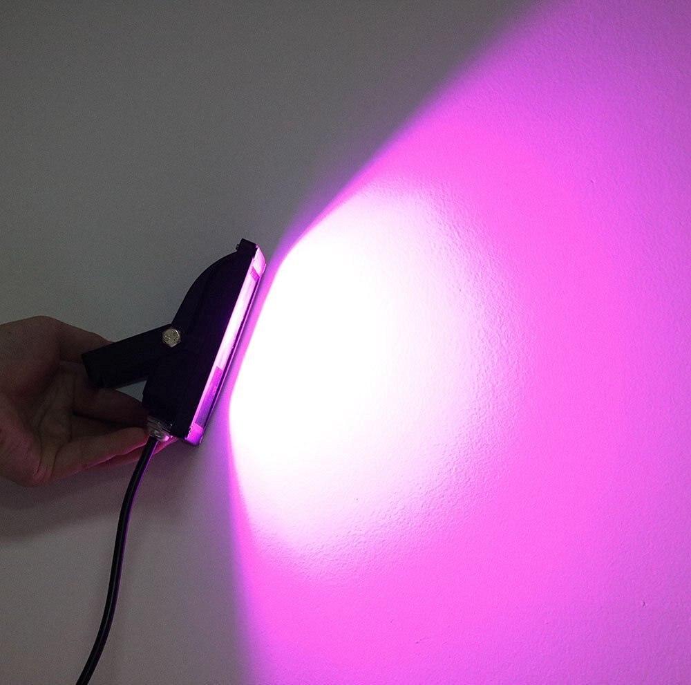 Led Grow Lights Flood Light 10w 20w 30w 50w IP65 Waterproof Outdoor lamp Security Hydroponic Plant Full Spectrum Garden Light