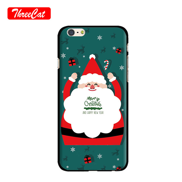 Supreme Phone Case For Iphone 6 6s 7 8 Plus Merry Christmas Soft Design Back Cover Capa Funda Coque