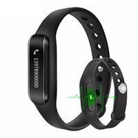 Bluetooth 4.0 W6B Smart Wristband Band Heart Rate Monitor Sport IP65 Waterproof OLED Smartband Bracelet for Android iOS Phone