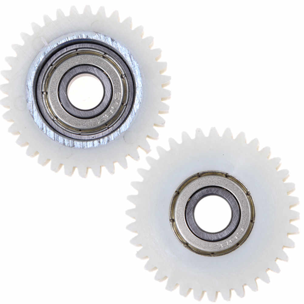 Number of Teeth: 36 Teeth, Hole Diameter: Thicknss 12MM Ochoos 3pcs//Set 36Teeths Outer Diameter 38mm Thickness 12mm Electric Vehicle Bicycle Nylon Worm Gear Electric Bicycle Replacement Part
