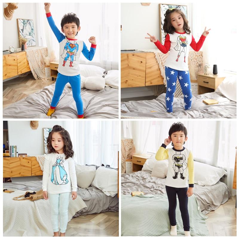 Kids Clothing Baby Pajamas Sets Kids Pajamas Children Sleepwear Boys Girls Animal Pyjamas Pijamas Cotton Nightwear Clothes CL008(China)