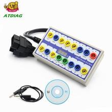 Neu Auto Auto OBD 2 Break Out Box OBD2 Breakout Box OBD OBDII Protokoll Detector Diagnose Stecker Detektor