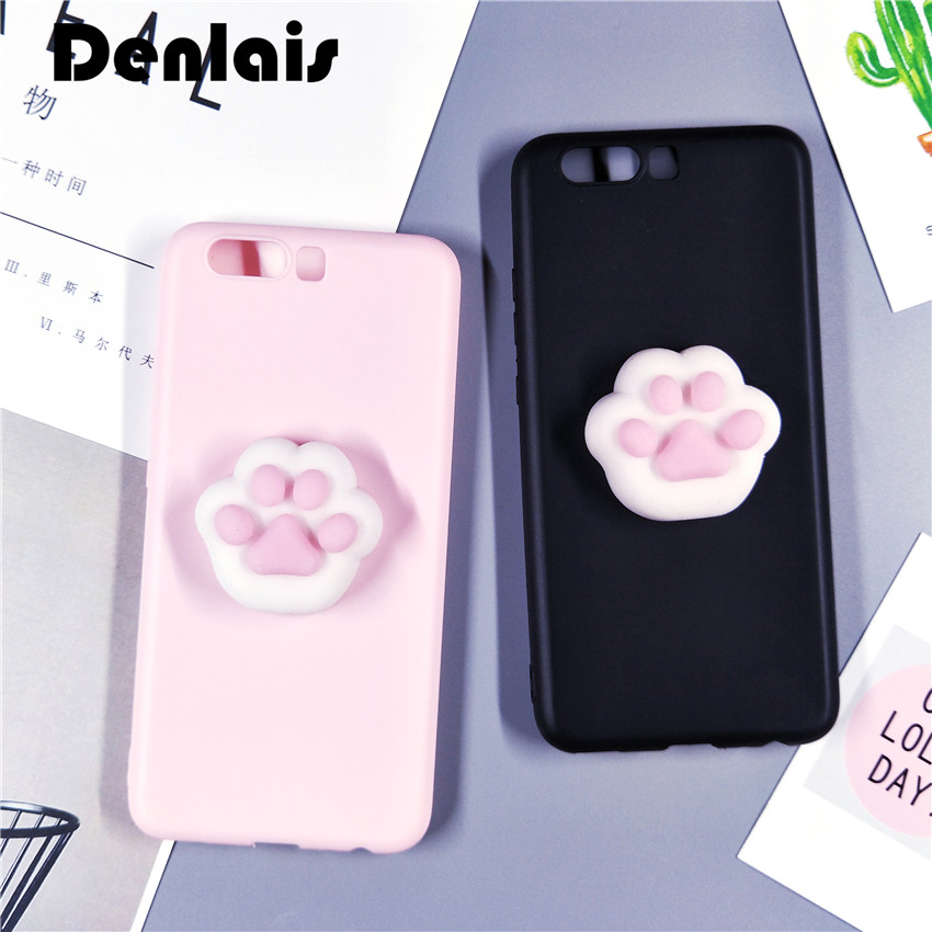 Black Pink <font><b>Case</b></font> For <font><b>iPhone</b></font> 5 <font><b>5S</b></font> SE Fundas Cute Silicone <font><b>Squishy</b></font> Cat Paw <font><b>Phone</b></font> <font><b>Cases</b></font> For <font><b>iphone</b></font> SE/5/<font><b>5S</b></font> Slim Soft TPU Cover Capa