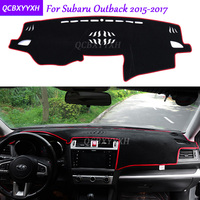 For Subaru Outback 2015 2017 Dashboard Mat Protective Interior Photophobism Pad Shade Cushion Car Styling Auto