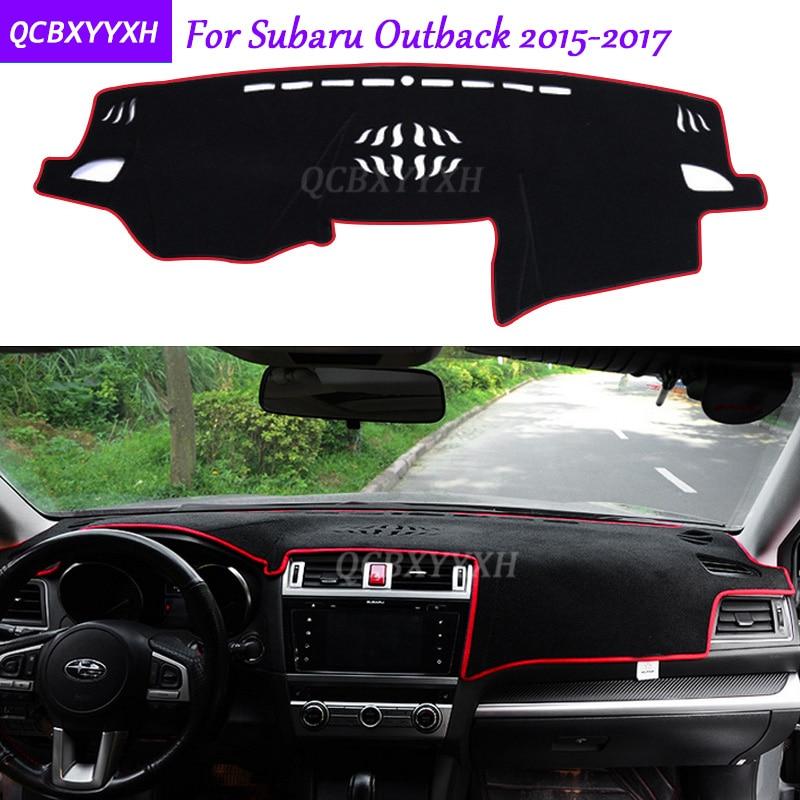 Pour Subaru Outback 2015-2017 Tableau de Bord Tapis De Protection Intérieur Photophobism Pad Ombre Coussin Car Styling Auto Accessoires