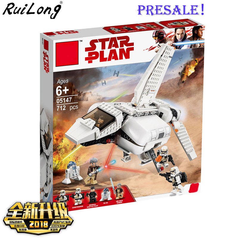 New Star Plan Wars The Imperial Landing Craft Compatible Legoingly Starwars 75221 Building Blocks Bricks Toys Christmas Gifts
