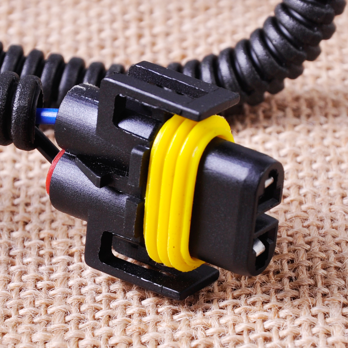 Citall H11 Female Fog Light Lamp Adapter Wiring Harness Sockets Wire Ford Focus Connectors Connector For Acura Rdx Nissan Cube Honda Cr V In From Automobiles