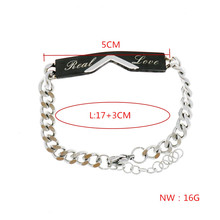Couple Bracelets with Best Gift Bracelets For Women Stainless Steel Men Female Fashion Jewelry Unique Gift for Lover