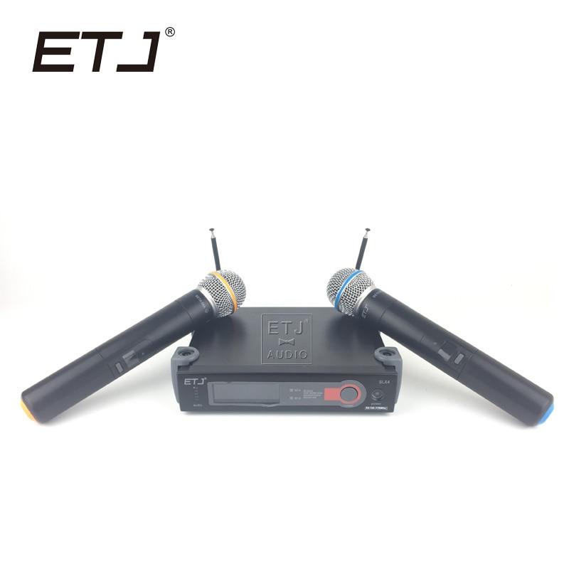 Free Shipping!Top Quality SLX24/BETA58 58A SM 58 Wireless Single Handheld Microphone Professional Karaoke Microphone SLX242