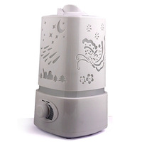 Essential Oil Diffuser Aroma Diffuser Difusor De Aroma LED Office Ultrasonic Air Humidifier Mist Maker For