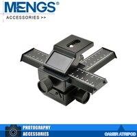 MENGS Mcoplus Plateau Panoramic 3D 4 Way Macro Focusing Rail Slider Close Up Shooting For Digital
