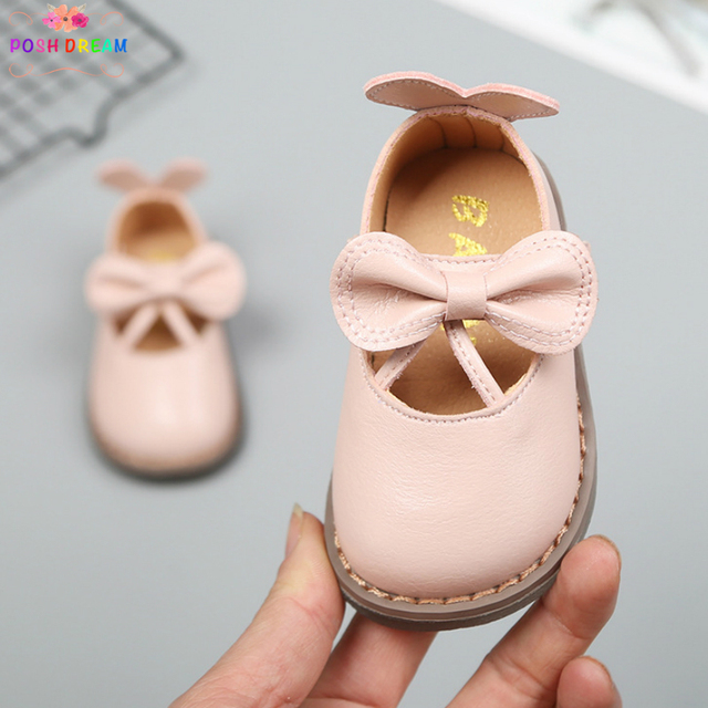 192e818522a7 Spring 2019 Baby Girls Soft First Walker Shoes for Birthday 0-3 Years  Newborn Girls Baby Shoe Princess Autumn Girls Single Shoes