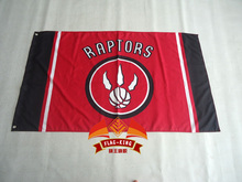Toronto Raptors Flag 3×5 FT 150X90CM Banner 100D Polyester NBA flag , free shipping