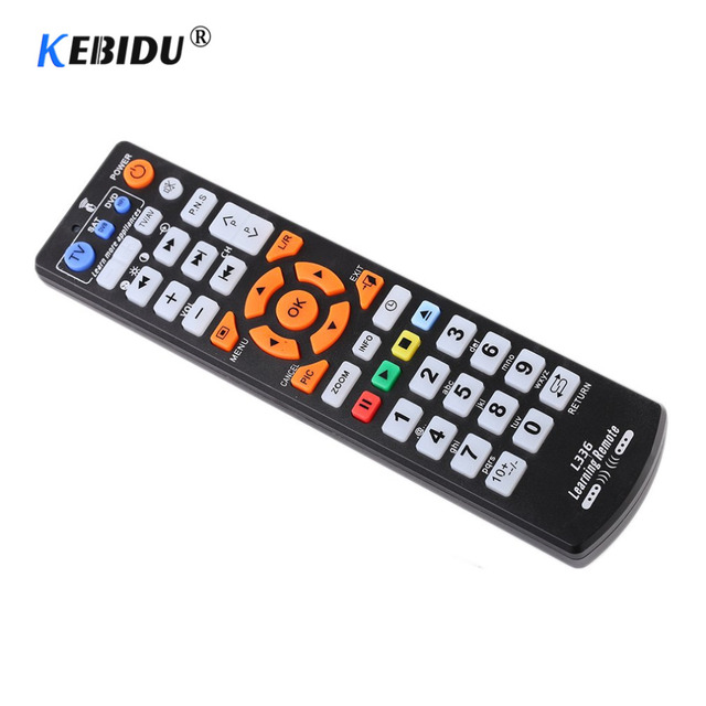 Kebidu Universal Smart IR Remote Control With Learn Function Replacement Remote Controller copy for TV STB DVD SAT DVB TV BOX