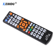 Kebidu Universele Smart IR Afstandsbediening Met Leerfunctie Vervanging Afstandsbediening kopie voor TV STB DVD SAT DVB TV DOOS