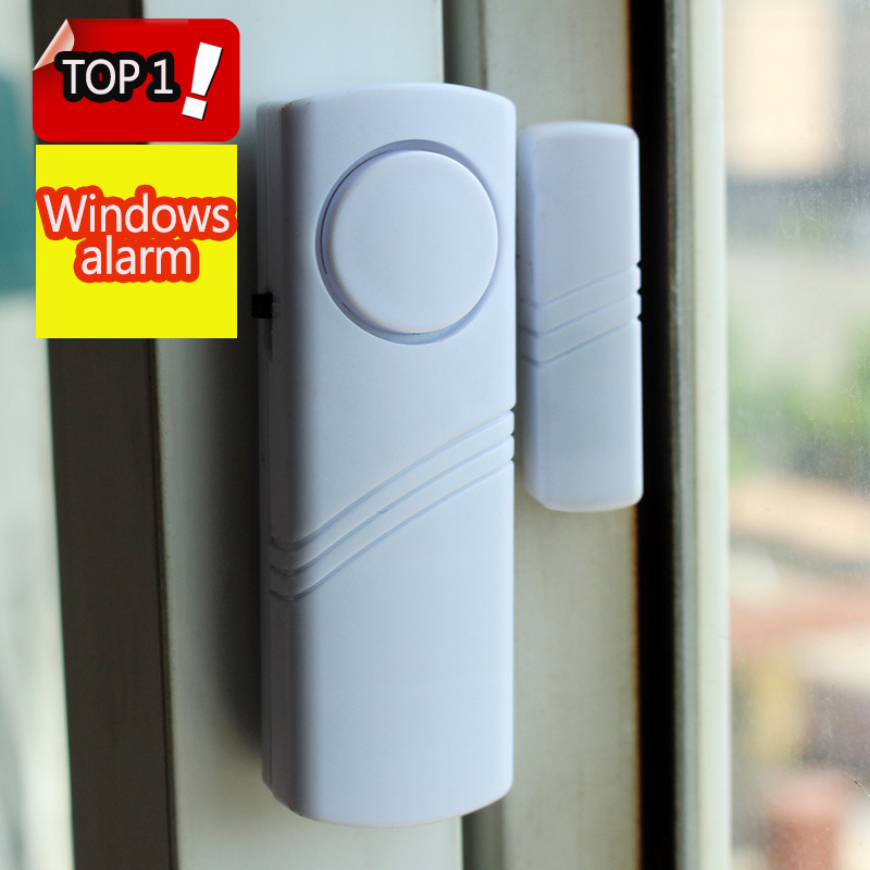 1pcs Magnetic Sensor Wireless Window Magnet Sensor Detector For Home Window Door Alarm Entry Anti Thief Security Alarm Clock