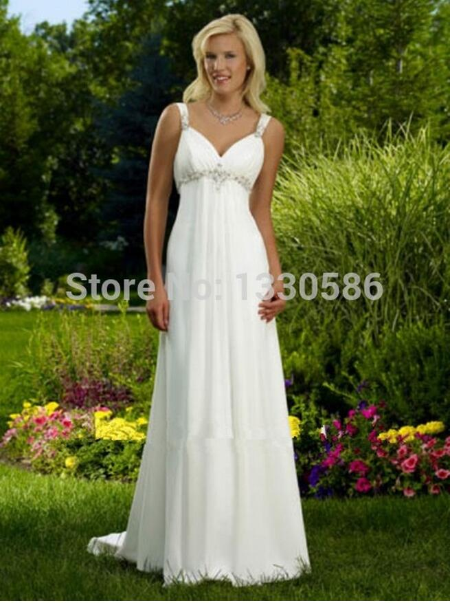 Casual White Wedding Dresses Promotion-Shop for Promotional Casual ...