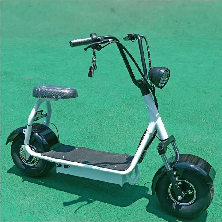 Электрический мотоцикл Citycoco электрический скутер велосипед литиевая батарея