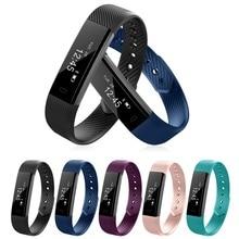 Водонепроницаемый Bluetooth smartwatch Браслет сна монитор сердечного ритма наручные часы браслет трекер спортивный шагомер AC756-760