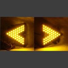 Автомобиль Третий Задний Указатель Поворота LED Дополнительная Задняя Указатель Поворота Стекла Acetabula-2 шт. (маленькая модель)