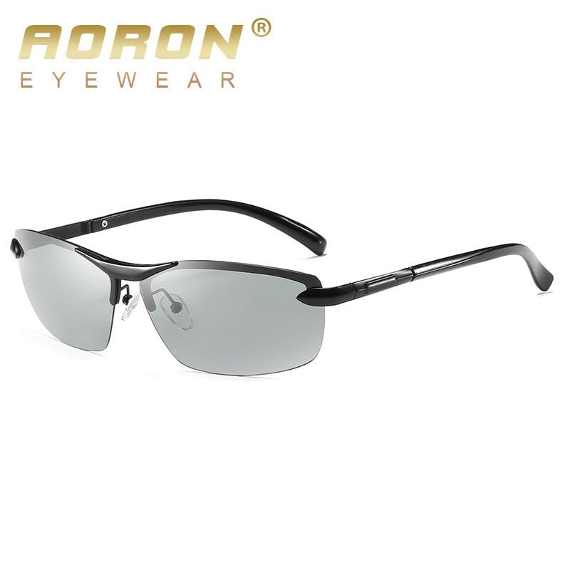 Gafas de sol polarizadas fotocromáticas AORON Hombres Decoloración - Accesorios para la ropa - foto 4