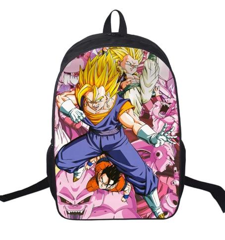pulgadas Sun mochila Z para Goku Ball Dragon niños adolescentes 16 1Cwdq1
