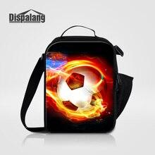 Dispalангпрохладный футбольных изолированные обед сумки для детей школьные Термальность сумка-холодильник для мальчиков подросткового возраста Для мужчин Еда сумка на плечо; для ланча коробка сумка