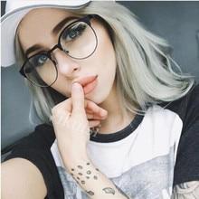 REALSTAR модные золотые металлические оправы для очков женские оптические очки близорукость оправа Брендовые очки против голубого излучения мужские Oculos S313