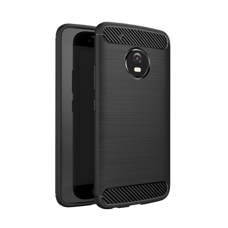 super popular 6e71b a4f34 US $5.54 | For Moto G5 Plus Case iPaky Original Hybrid Slim Rugged Armor  Brushed Carbon Fiber Silicon Back Cover Case for Motorola Moto G5-in Fitted  ...