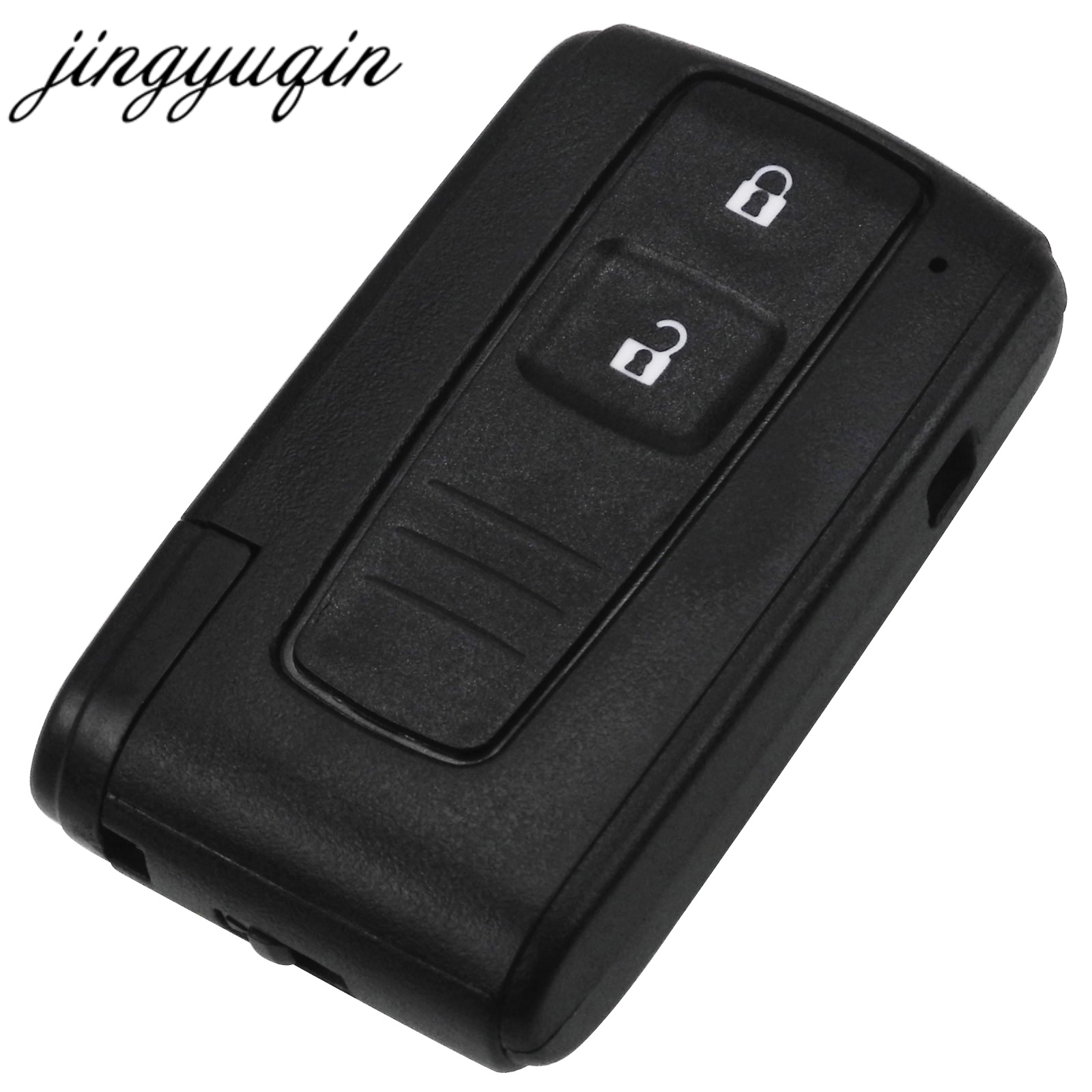 jingyuqin 2 BUTTON REMOTE KEY CASE FOR TOYOTA PRIUS COROLLA VERSO TOY43 BLADE-in Car Key from Automobiles & Motorcycles