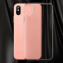 Besegad Fashion Clear TPU Super Thin Shockproof Wear Resistant Protective Protector Case Cover Skin Shell for Apple iPhone X 10(China)