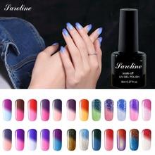 sarness brand UV LED Temperature Color Changing UV Gel Nail Polish Cheap Price Manicure Color Soak off Nail Varnish