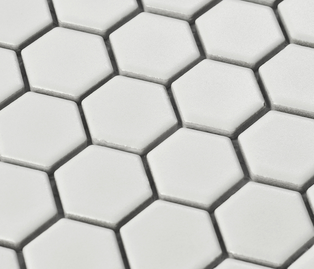 White Porcelain Mosaic Floor Tile,Ceramic Sticker,Bathshower Wall/Kitchen  Backsplash Wall Home