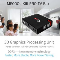 MECOOL KIII PRO Smart TV Box Amlogic S912 S2 T2 DVB Octa Core Android6 0 3G