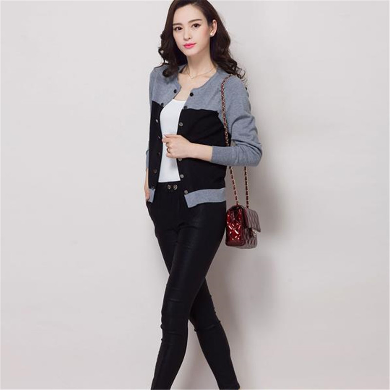 de5e7545fca European Street New Fashion Spring Autumn Winter Women Oversized Cardigans  Sweaters Knitted Christmas Sweater Dress 60244-in Cardigans from Women s  Clothing ...
