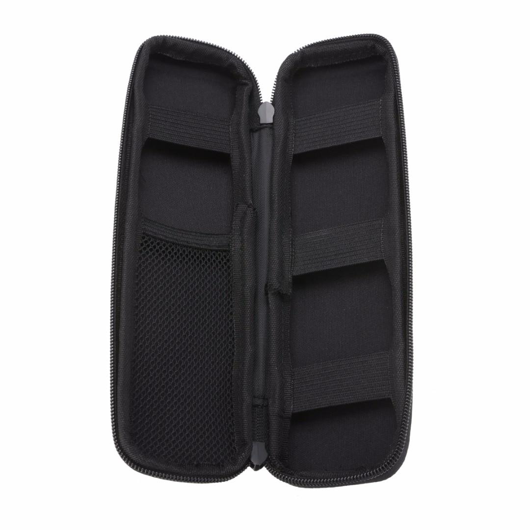 Mayitr Portable EVA Hard Shell Case Storage Bag Holder Multifunction  Travel Carrying Storage Bag Pen Pencil Pouch Zipper Open