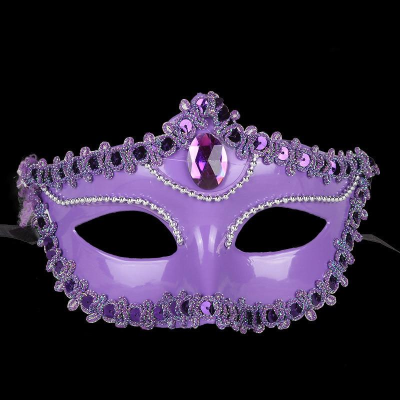 3PCS Plating Dance Mask Partei Halloweeni jõulud Pulmakaunistused - Pühad ja peod - Foto 6