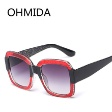 ccbe01599c4 OHMIDA Fashion Cheap Square Sunglasses For Women 2018 Brand Designer Sun  Glasses Men Vintage Pink Color