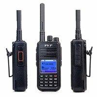 2016 высокое качество портативная рация TYT MD 380 УКВ 136 174 мГц 5 Вт DMR мобильный радиотелефон с кабелем и программным обеспечением