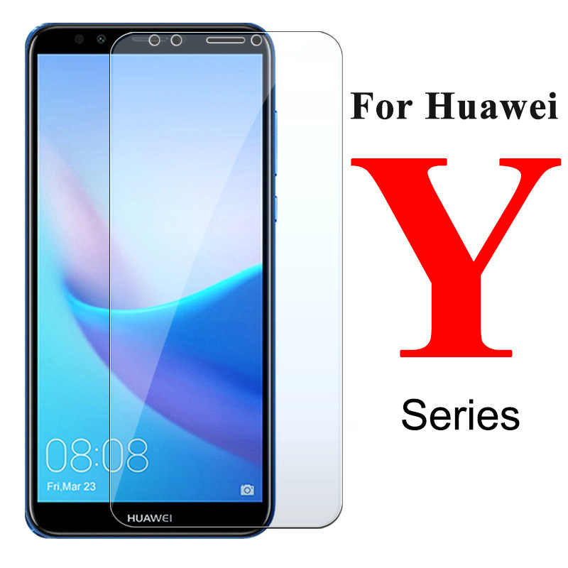 Phone Screen Protector For Huawei Y5 Y6 Y7 Prime 2018 Tempered Glass Film Protective For Honor 7A Pro 7C For Honor 7C Pro Glass