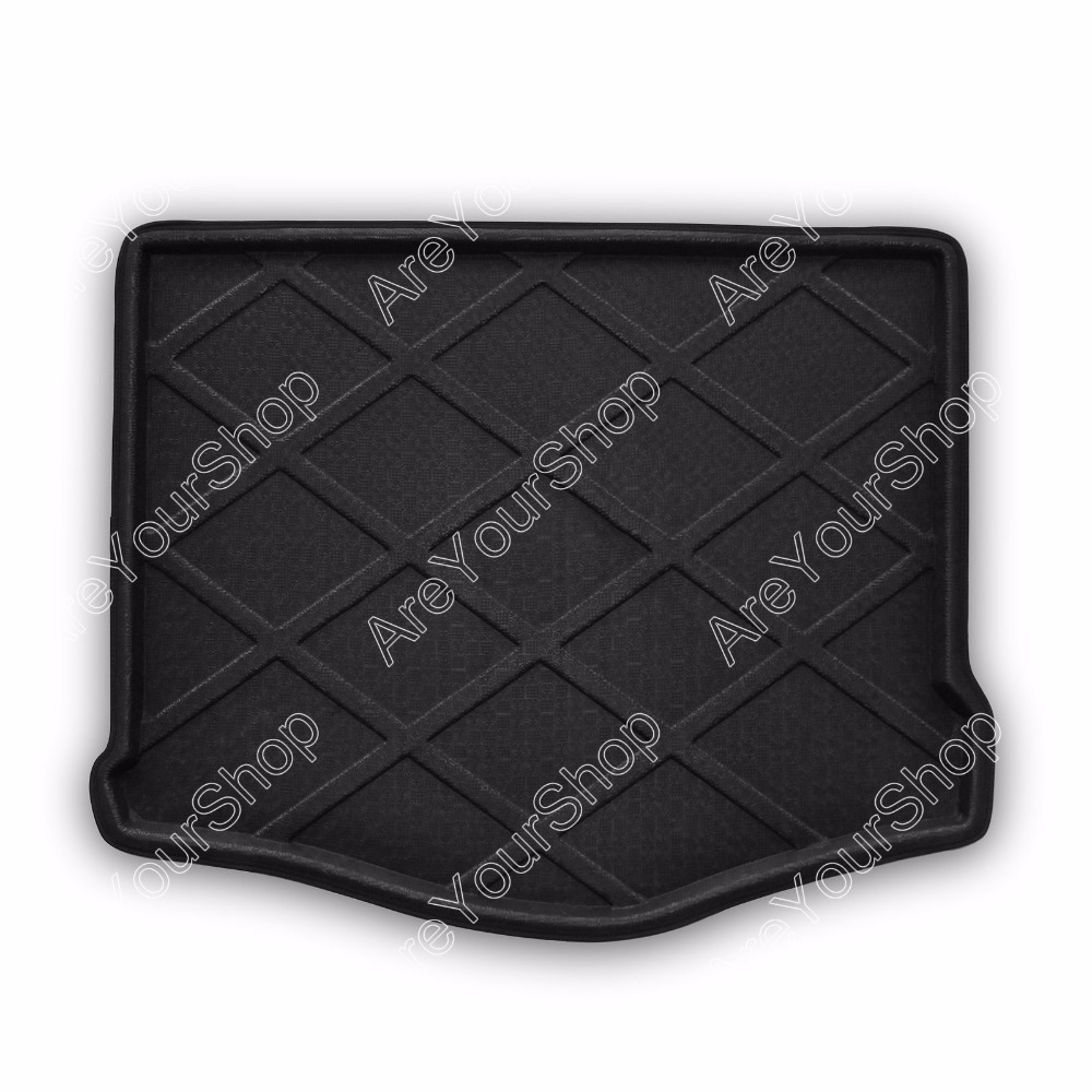 Car Auto Cargo Mat Boot liner Tray Rear Trunk Sticker For Focus Hatchback 2012 2013 2014 Car-Styling Stickers Decorations free shipping car trunk mat cargo mat for jeep compass mk49 2011 2012 2013 2014 2015 2016